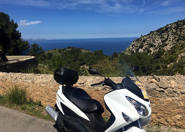 Suzuki Burgman 200, Mallorca